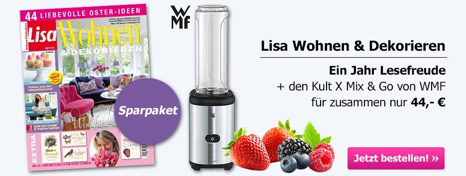 Lisa Wohnen & Dekorieren Sparpaket