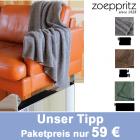 SOFT-WOOL-Decke von `zoeppritz since 1828´