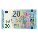 Verrechungsscheck 20 EUR