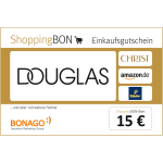15 € Douglas ShoppingBON