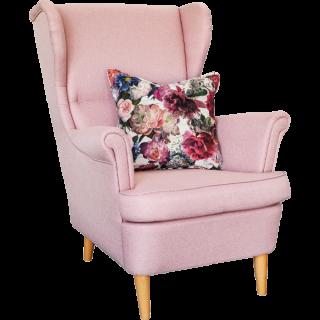 Wohnen & Garten Sessel mit Rosenkissen