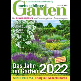 Mein schöner Garten Kalender 2022
