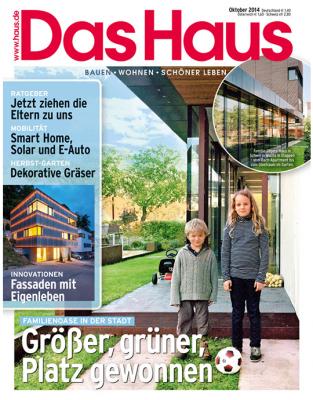 Das Haus - aktuelle Ausgabe 10/2014