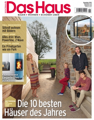 Das Haus - aktuelle Ausgabe 11/2015