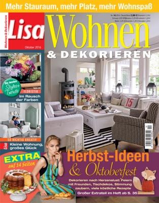 Lisa Wohnen & Dekorieren - aktuelle Ausgabe 04/2016