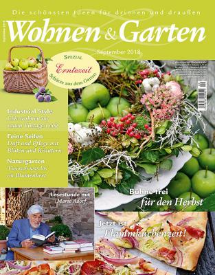 Wohnen & Garten - aktuelle Ausgabe