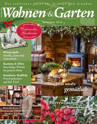 Wohnen & Garten 2018/11 Cover