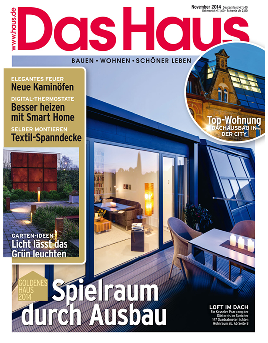 Das Haus - aktuelle Ausgabe 11/2014