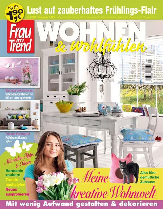 Frau im Trend WOHNEN & wohlfühlen - aktuelle Ausgabe