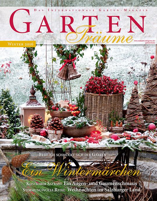 GartenTräume - aktuelle Ausgabe 01/2016