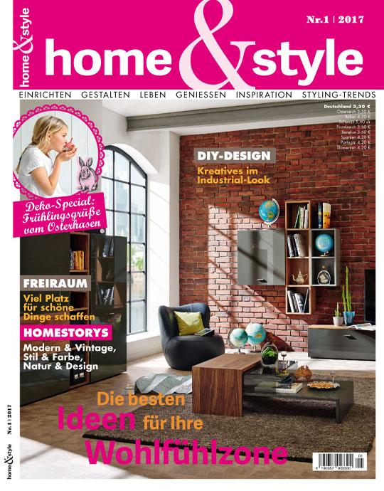 home & style - Aktuelle Ausgabe 01/2016