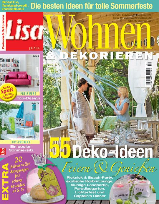 lisa wohnen und dekorieren abo lisa wohnen und dekorieren. Black Bedroom Furniture Sets. Home Design Ideas