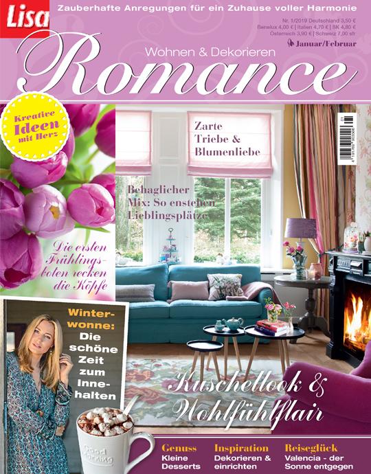 wohnen und garten lisa romance exklusive pr mien sichern. Black Bedroom Furniture Sets. Home Design Ideas