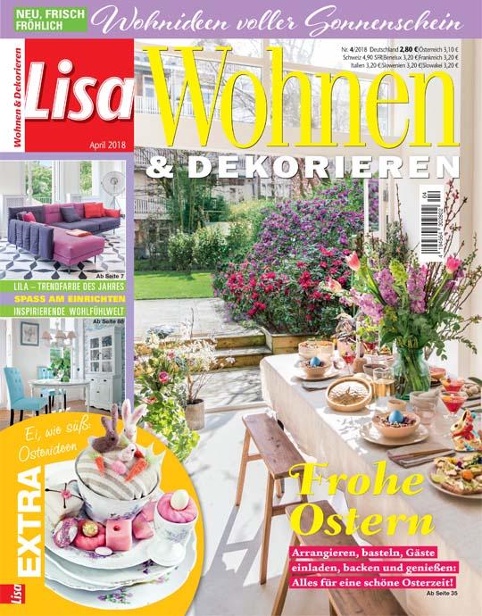 wohnen und garten lisa wohnen dekorieren exklusive. Black Bedroom Furniture Sets. Home Design Ideas