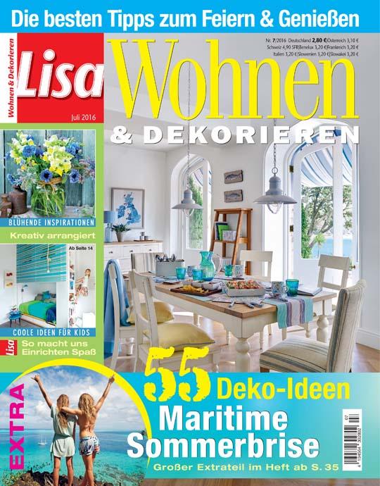 Wohnen und garten exklusive pr mien sichern for Lisa wohnen und dekorieren abo