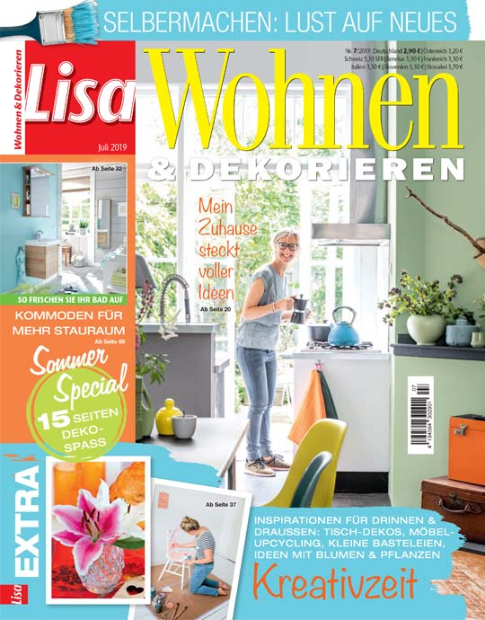 Wohnen Und Garten Lisa Wohnen Dekorieren Exklusive Prämien