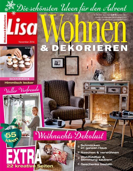 Wohnen und garten exklusive pr mien sichern for Lisa wohnen und dekorieren romance
