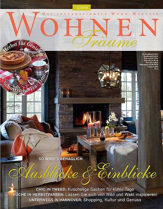WohnenTräume - aktuelle Ausgabe