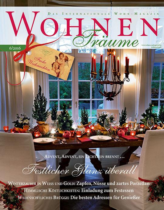 WohnenTräume - aktuelle Ausgabe 03/2016