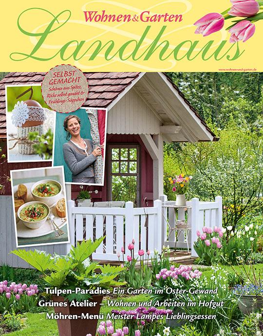 Wohnen & Garten Landhaus - aktuelle Ausgabe 03/2016