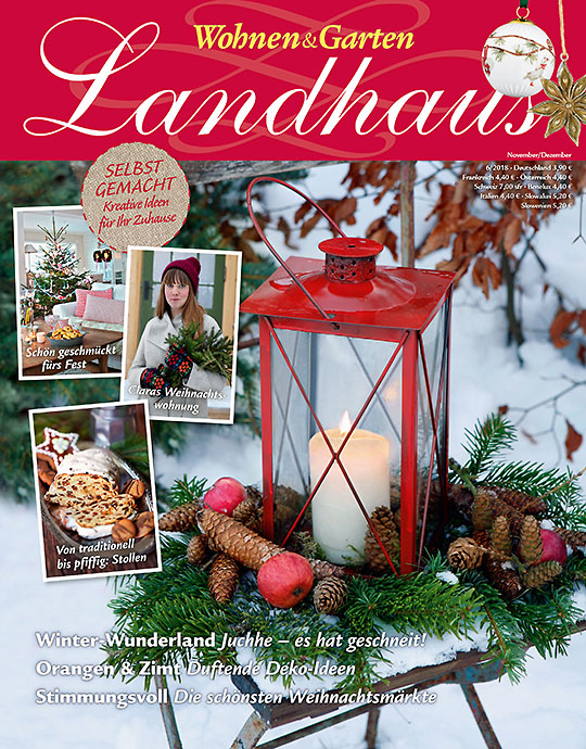 Wohnen & Garten Landhaus - aktuelle Ausgabe